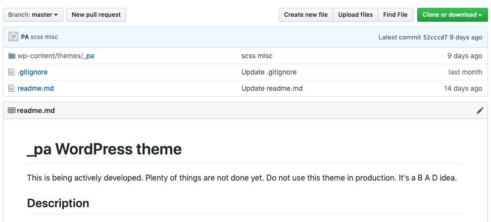 This theme is on Github now